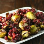 Brussel Sprouts with Cranberry Brown Butter- Oh Lardy