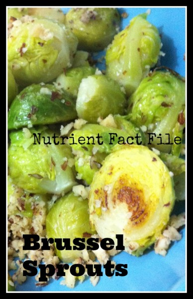 Nutrient Fact File Brussel Sprouts Loula Natural