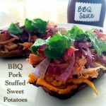 BBQ Pork Stuffed Sweet Potatoes-Primally Inspired