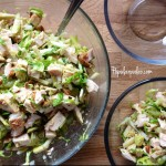 Chicken and Brussel Salad- Popular Paleo