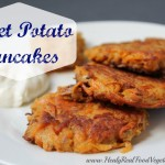 Sweet Potato Pancakes-Healy Real Food Vegetarian