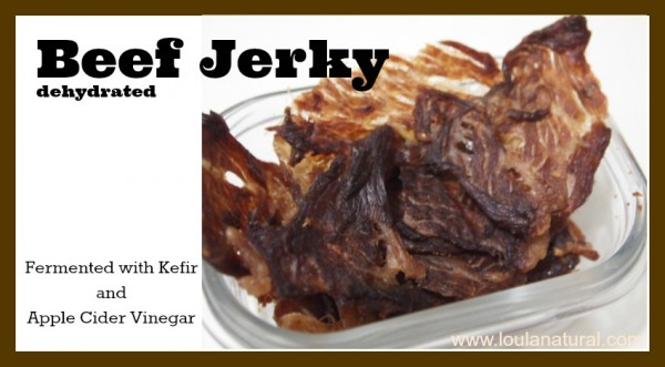 Beef Jerky Loula Natural