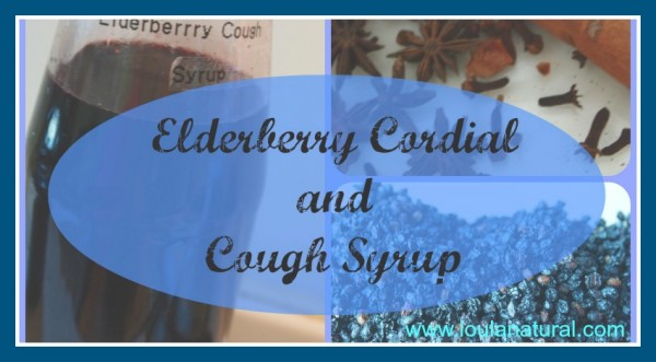 Elderberry Cordial and Cough syrup Loula Natural fb