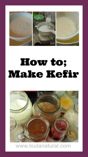 How To Make Kefir Loula Natural pin
