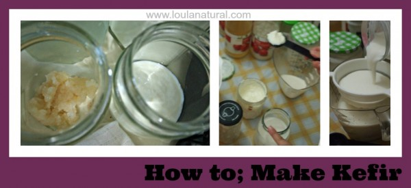 How to make Kefir Loula Natural