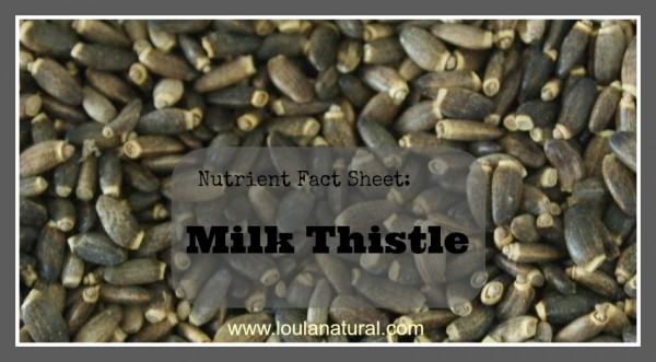 Milk Thistle Loula Natural
