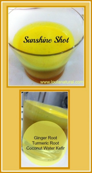 Sunshine shot Loula Natural pin