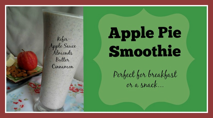 Apple Pie Smoothie Loula Natural