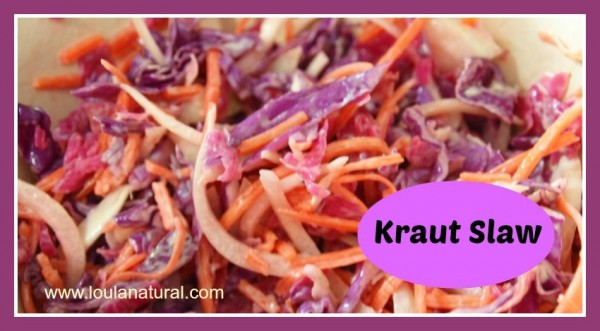 Kraut slaw Loula Natural fb