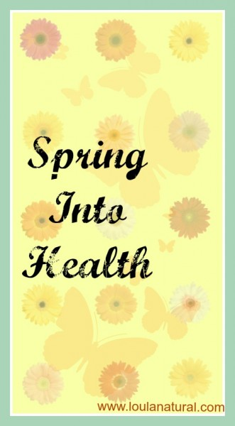 Spring into health Loula Natural pin