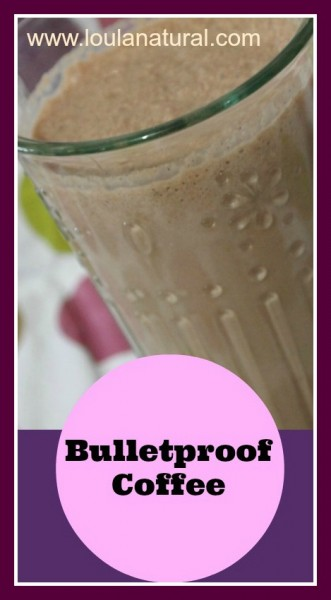 bulletproof coffee Loula Natural pin