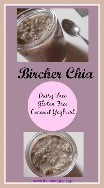 Bircher Chia Loula Natural pin