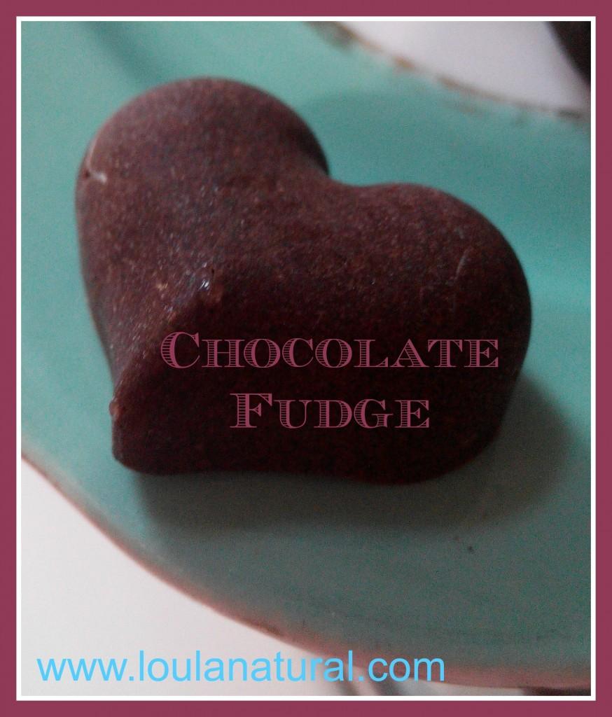 Chocolate Fudge Loula Natural