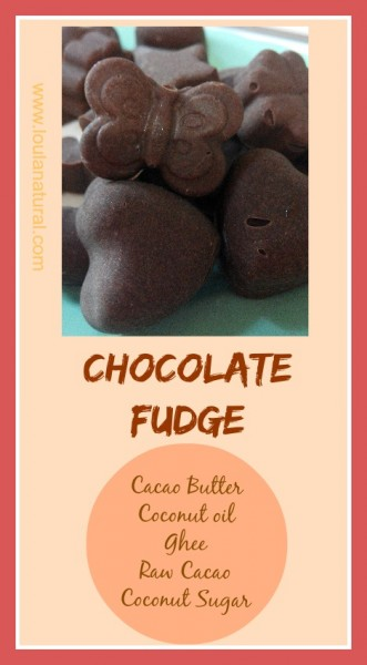 Chocolate Fudge Loula Natural pin