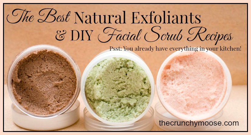 The Crunchy Moose Facial Scrubs