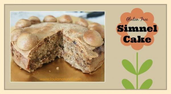Gluten Free Simnel Cake Loula Natural fb