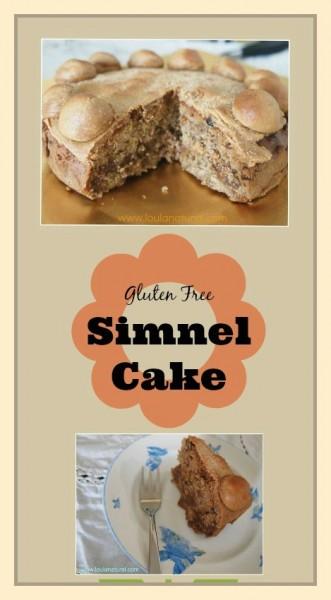 Gluten Free Simnel Cake Loula Natural pin