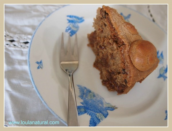 Slice of Simnel Cake Loula NAtural