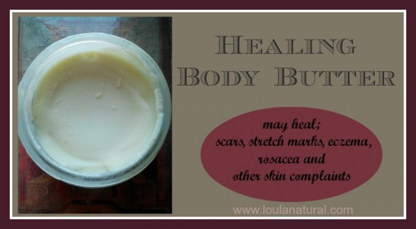 Healing Body Butter Loula Natural