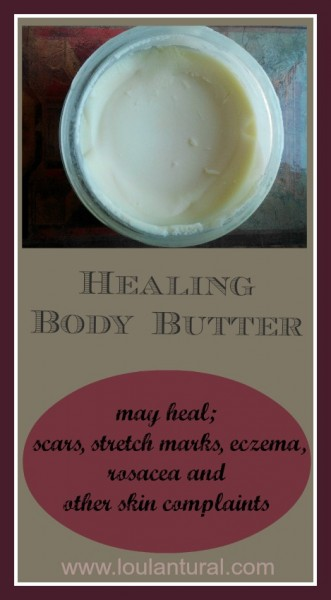 Healing Body Butter Loula Natural Pin