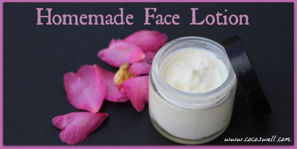 Coco's Well Homemade Face Lotion