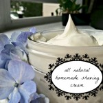 Homemade Mommy Homemade Shaving Cream