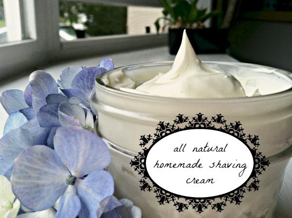 Homemade Mommy Homemade Shaving Cream