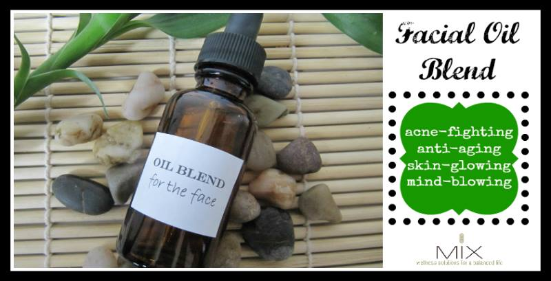 Mix Wellness Facial oil blend