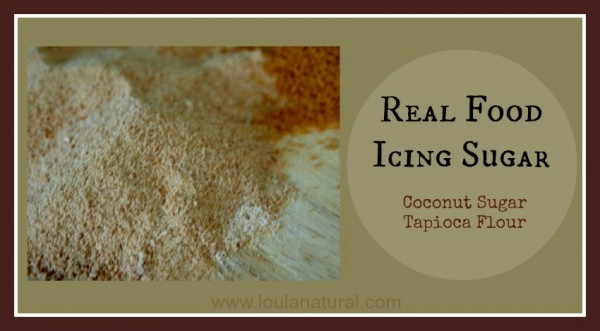 Real Food Icing Sugar Loula Natural FB