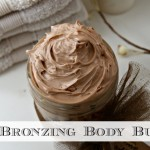 The Sprouting Seed Bronzing whipped body butter