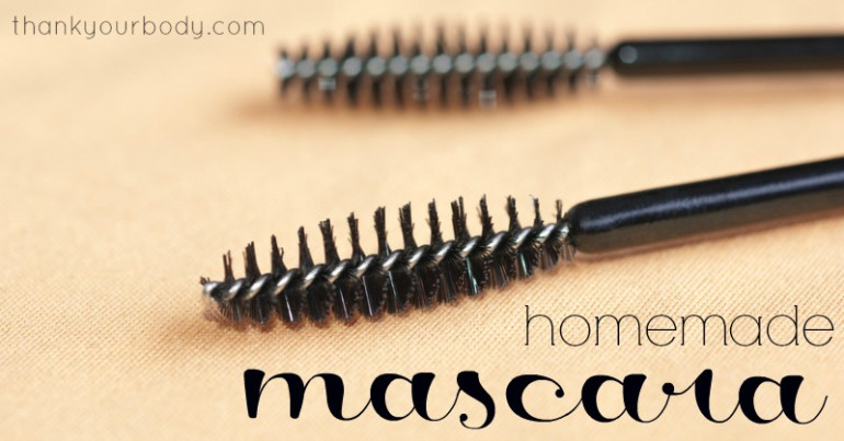 Thank Your Body Homemade Natural Mascara