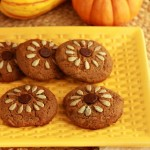 sunflower-cookies-beauty and the foodie