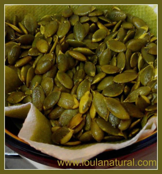 Turmeric Pumpkin Seeds Loula Natural