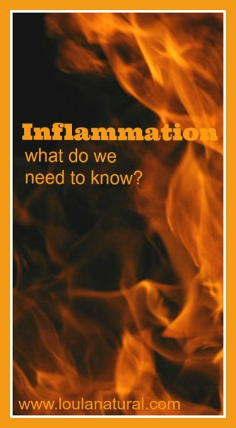 Inflammation what do we need to know Loula Natural pin