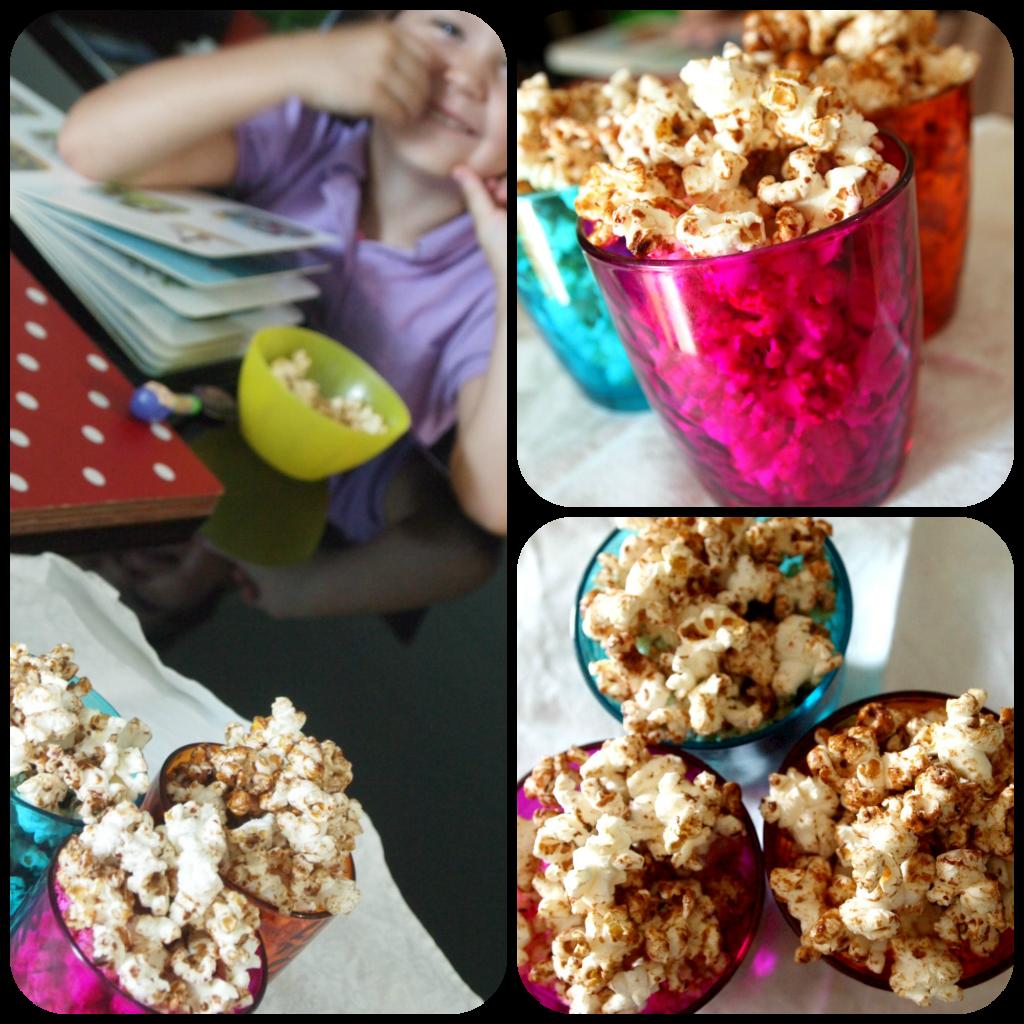 Cinnamon Salty Sweet Popcorn Loula Natural