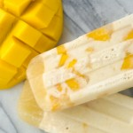 Cultured Coconut Mango Popsicles Nourished Kitchen