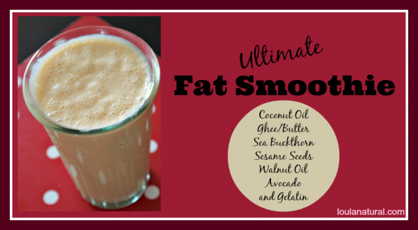 Ultimate Fat Smoothie Loula Natural fb
