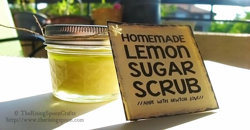 lemon sugar scrub The Rising Spoon
