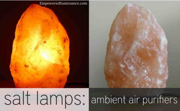 salt lamp Empowered Sustenance