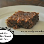 Almond Butter Pumpkin Bars Nearly Natural Mama