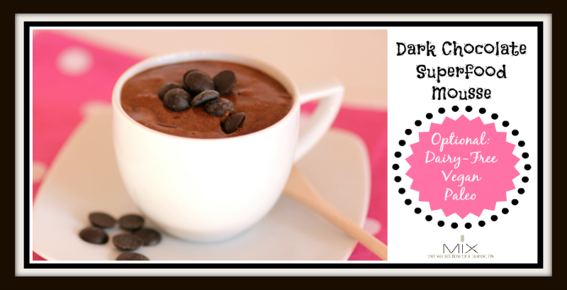 Chocolate Superfood Mousse Mix Wellness