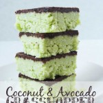 Coconut and Avocado Grasshopper Bars Raia's Recipes