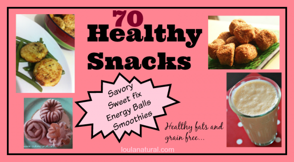 Healthy Snacks Loula Natural 1