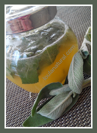 Lemon and sage cordial Loula Natural image1